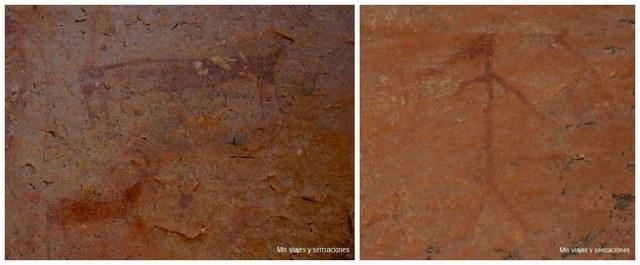 Abrigos rupestres Peña del Escrito, Villar del Humo, Cuenca