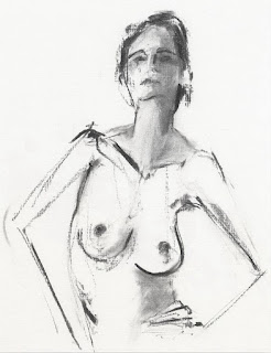 Bocetos de Torsos Desnudos de Mujeres