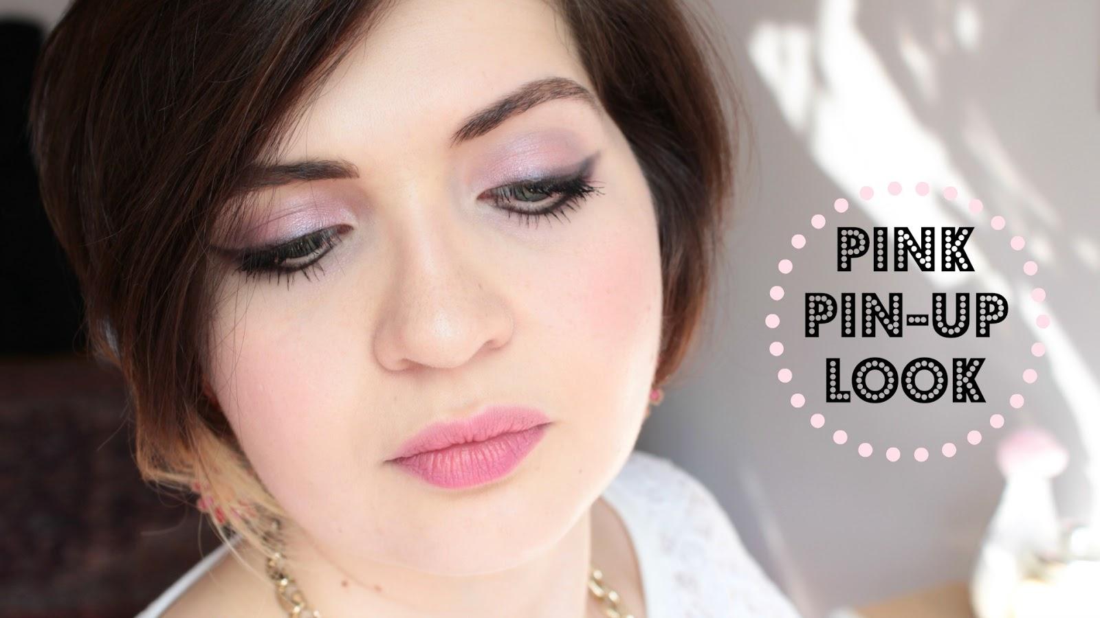 Pink Pin-Up Look