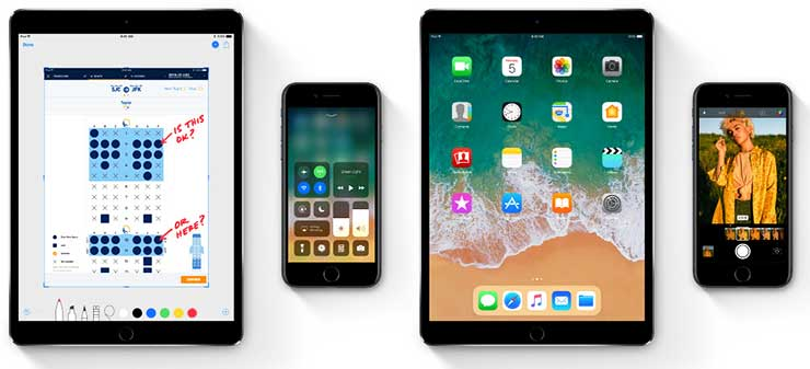 Complete List of iPhone, iPad and iPod Touch Devices That Supports iOS 11