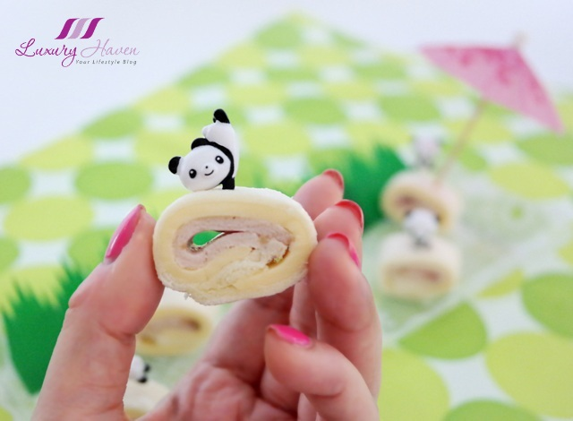 cute panda cocktail sticks kraft cheddar cheese pinwheels