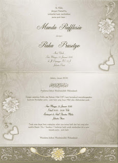 Undangan Pernikahan murah Erba 88126