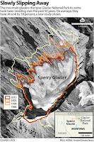 Sperry Glacier (Credit: Paul Horn/Inside Climate News [Source: USGS]) Click to Enlarge.