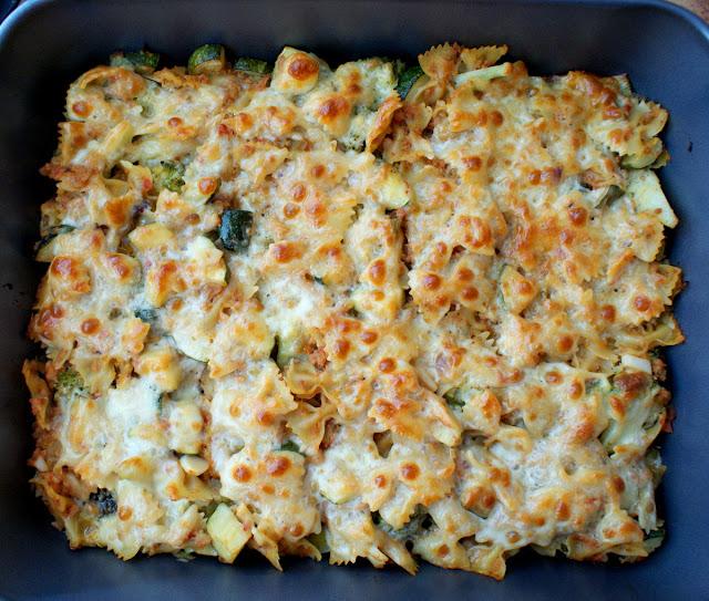 Hańderek,Barilla,makaron,farfalle,cucina italiana,pasta con broccoli,cukinia baby,kuchnia włoska,makaron włoski,makaron zapiekany,