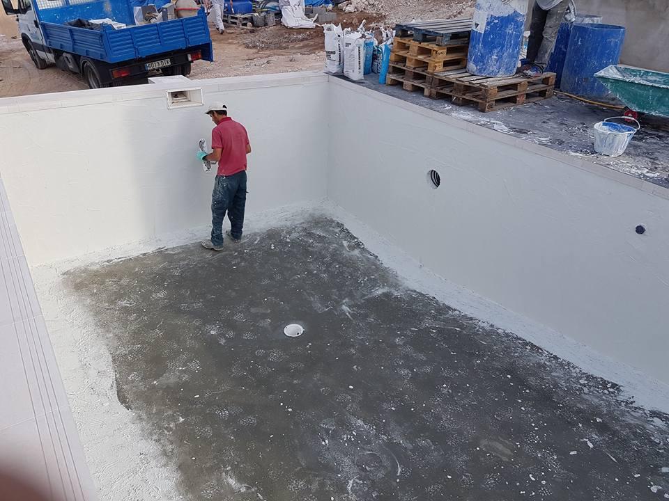 Reformas julio camarena piscina con revestimiento diamond for Revestimiento piscinas
