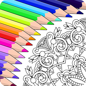 Colorfy Is The Free Addictive Coloring Book For Adults On Android Start Painting Books Now Children Can Also Enjoy Mandala Floral Animal And Patterns