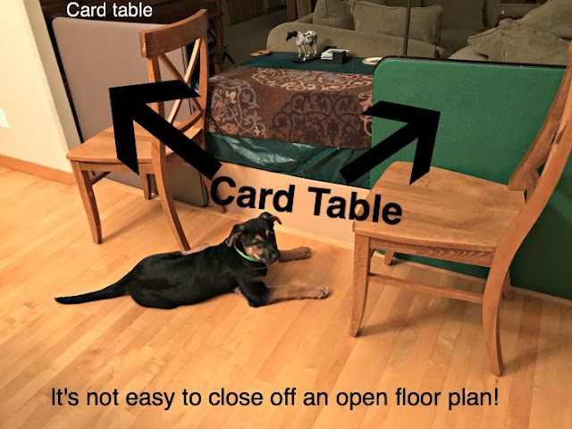 card table barricades