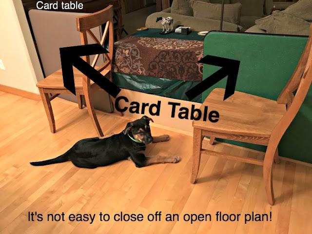 card table barricades