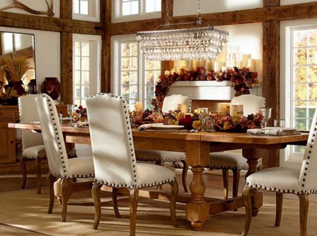 Simply Santa Barbara: Simple French Farmhouse Centerpiece