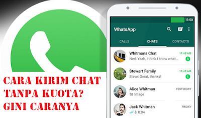Cara Mengirim Pesan WhatsApp Tanpa Harus Online