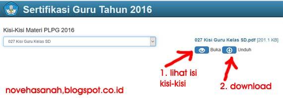 silakan download kisi-kisi materi PLPG Sertifikasi Guru tahun 2016 langsung dari situs resmi kemdikbud