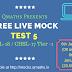 SSC CGL CHSL Free Online Live Mock Test