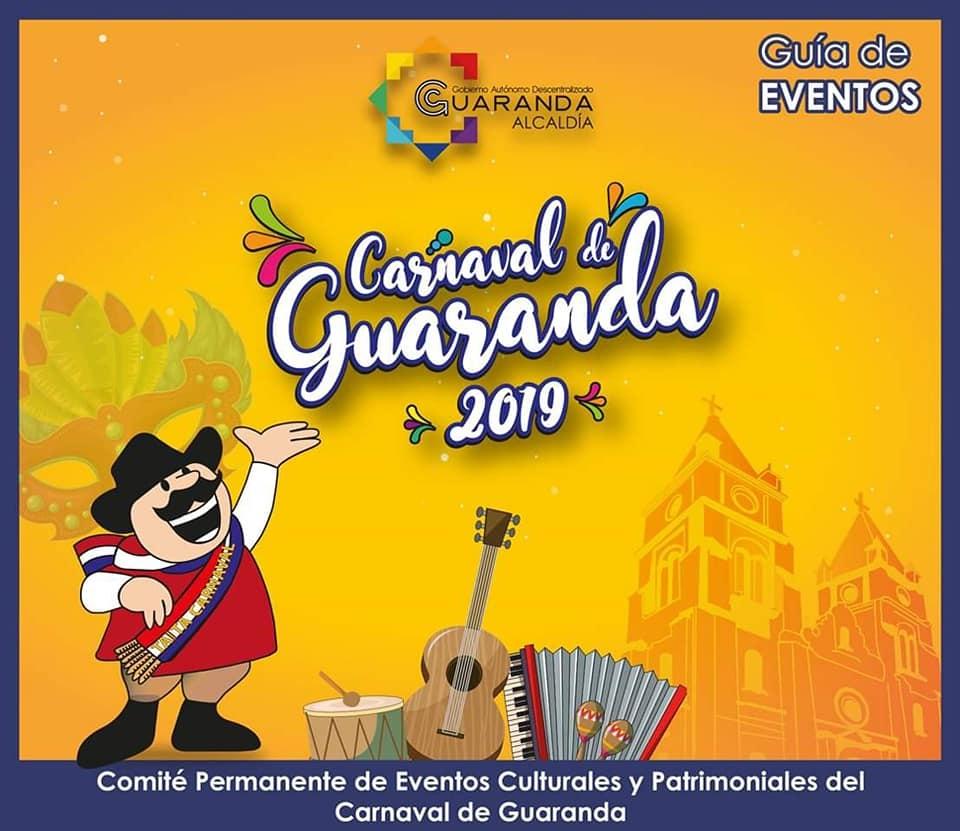 Programa completo Carnaval de Guaranda 2019