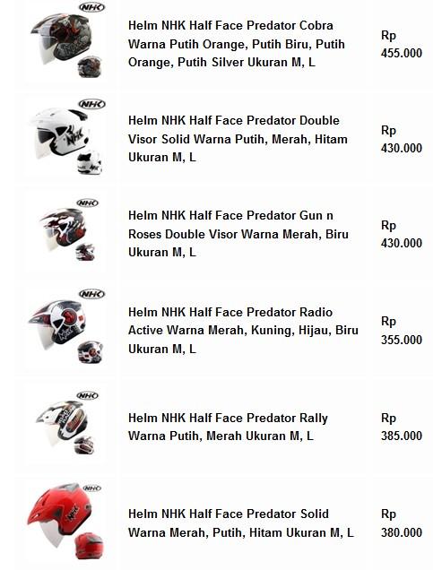 Helm NHK Half Face