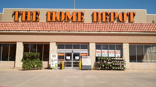 Visiting The Home Depot In Central Plano