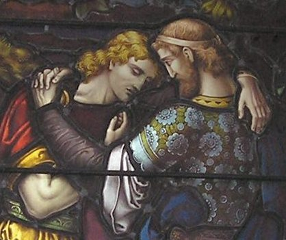 relationship of david and jonathan