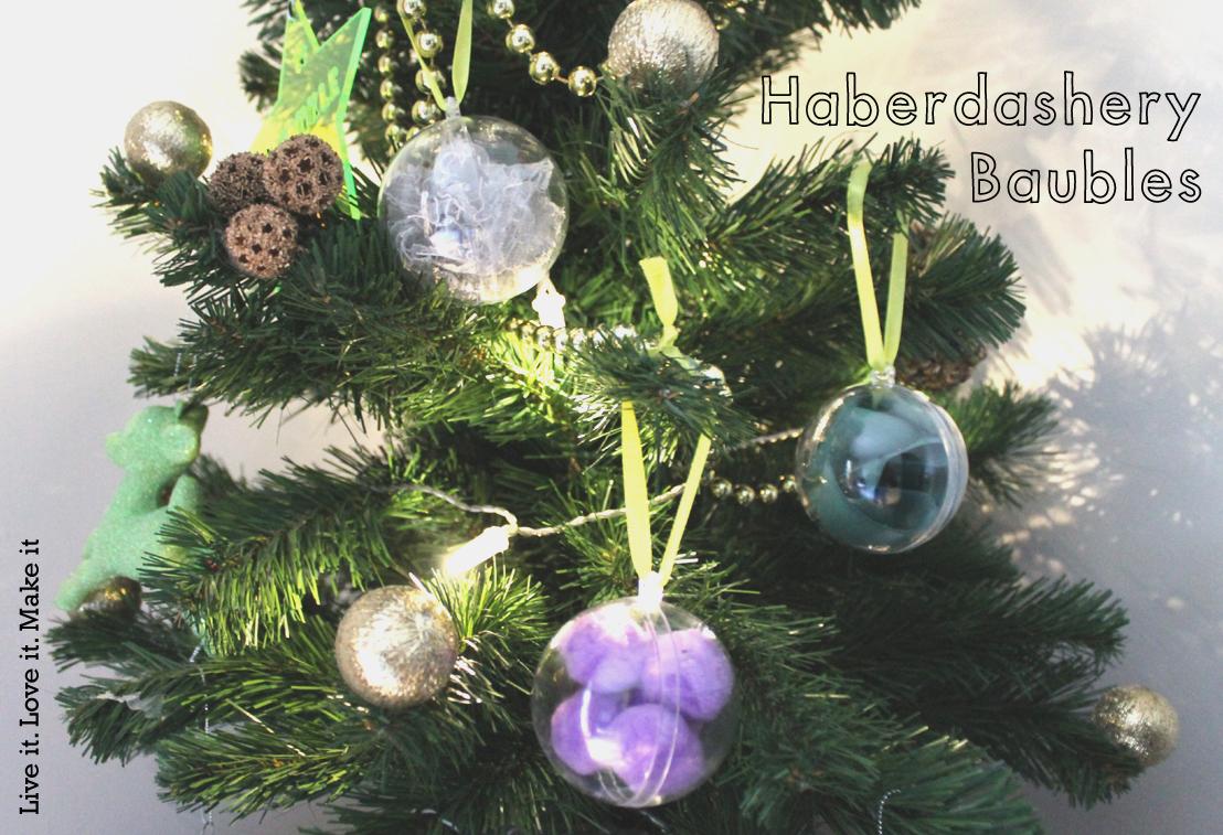 Make it: Haberdashery Baubles