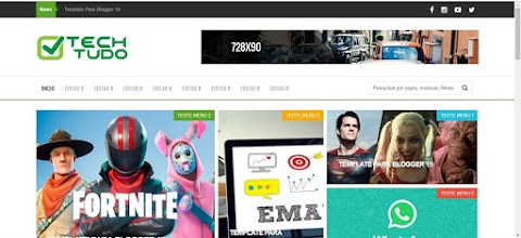 Templates Para Blogger TechTudo