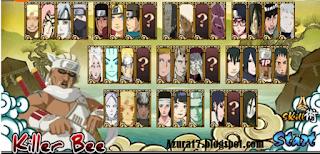 Game Seru Naruto Senki Boruto UNS4 Mod Money v1.2.0 Full Character Terbaru New Version