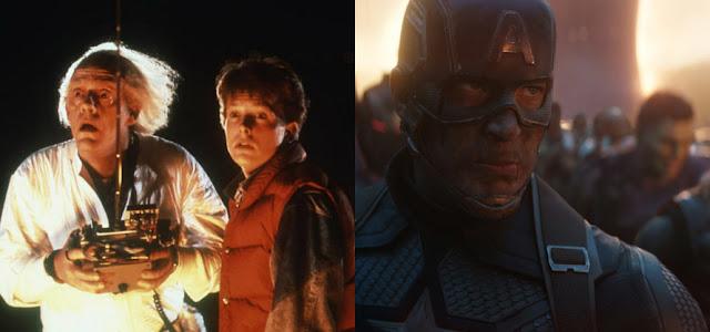 Escritor de 'De volta ao futuro' brinca sobre menção em 'Vingadores: Ultimato'