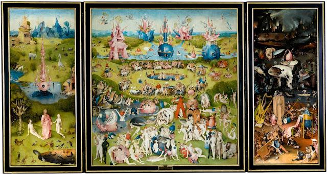 Il trittico del Giardino delle Delizie, Hieronymus Bosch