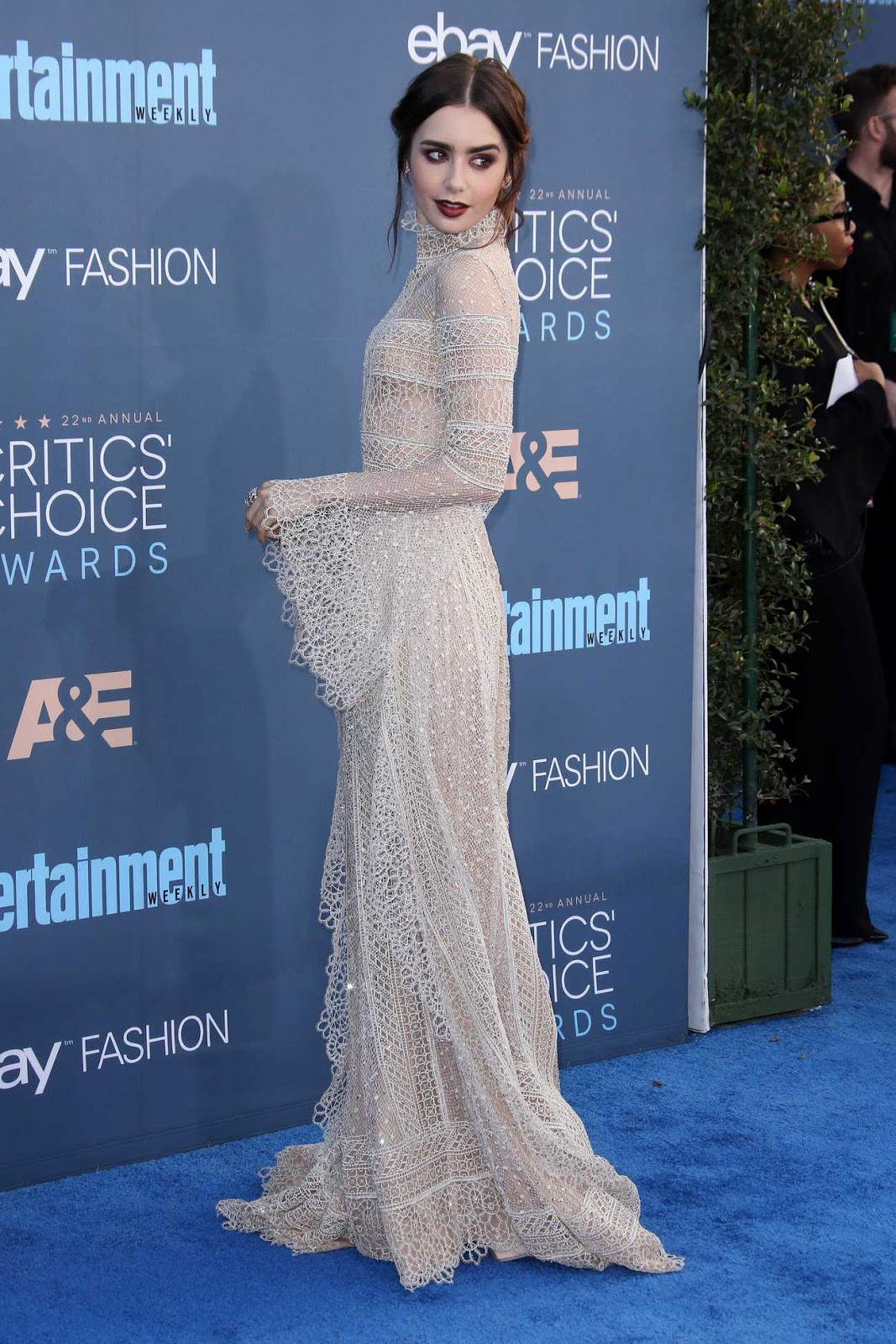 Lily Collins – 22nd Annual Critics' Choice Awards