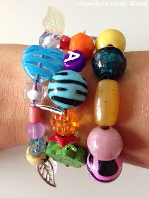 A bracelet of story beads