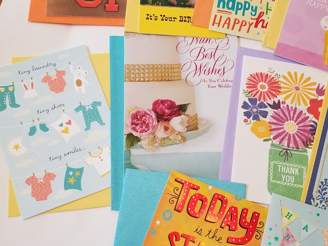Expressions Cards from Hallmark Cards at Dollar Tree