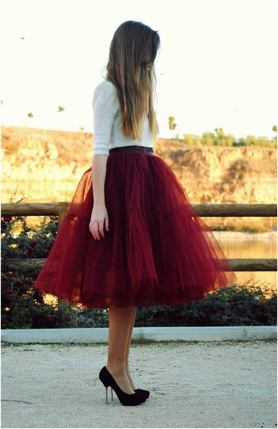 Top 5 Most Beautiful Tulle Skirts To wear