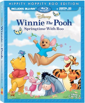 Blu-ray Review - Winnie The Pooh: Springtime With Roo