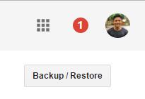Tombol Backup dan Restore di Blogspot