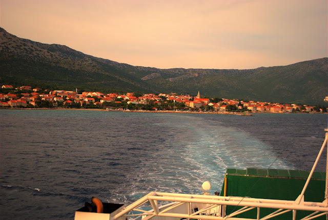 Island of Corchula. Croatia