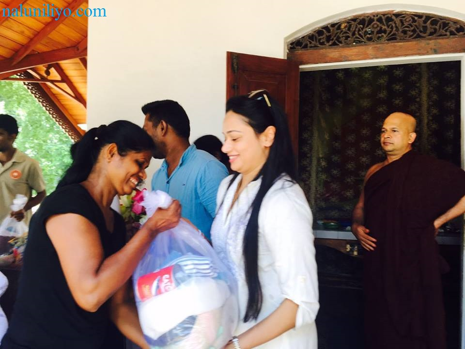 birthday Janaki Wijerathne Uduwe Dhammaloka Thero