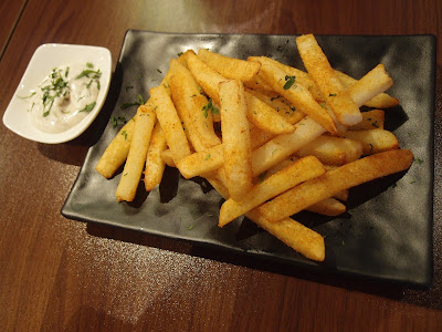 Fries with Truffle Mayo