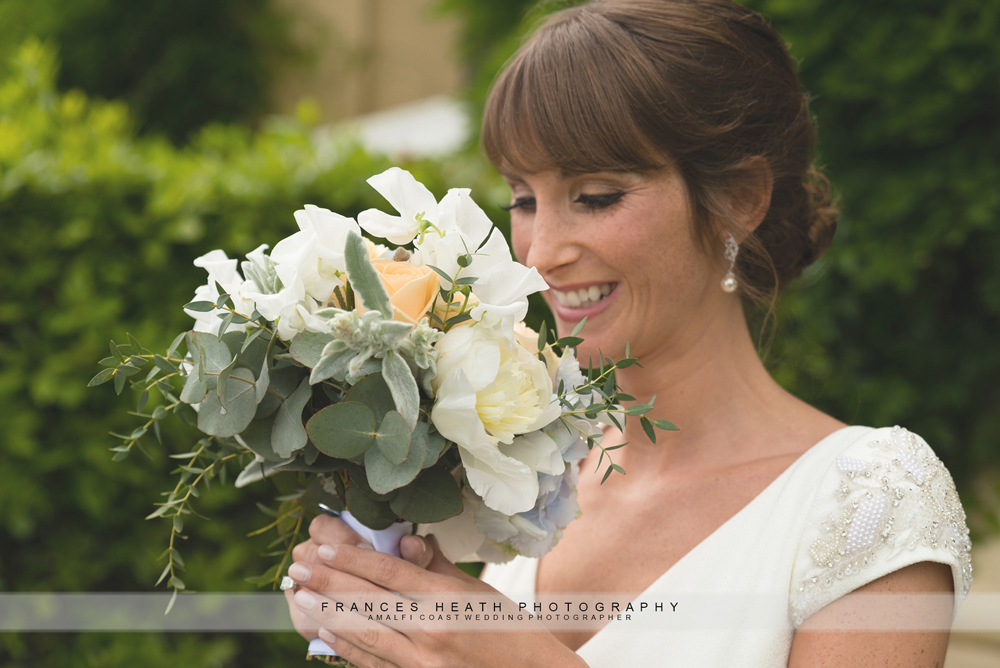 Bridal bouquet Ravello