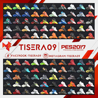 PES 2017 Bootpack 05.09 by Tisera09