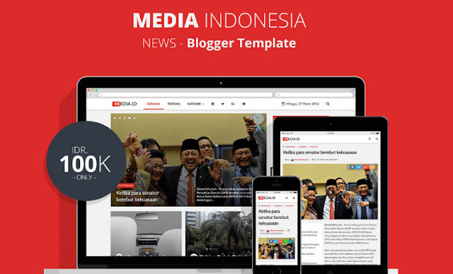 Media Indonesia Blogger Template