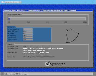Cách tạo các bản ghost mbr, uefi và bộ cài iso từ Windows 10 64 bit