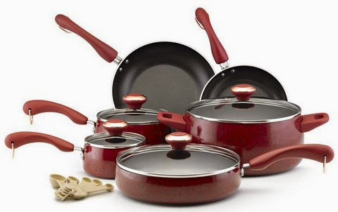 Paula Deen nonstick 15 piece cookware set