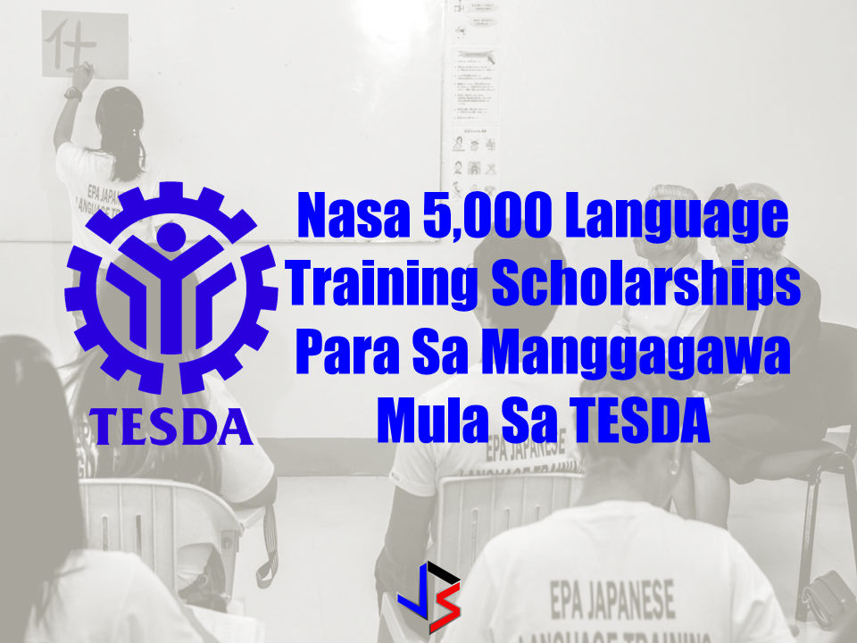 "OFWs know the value and advantages of learning the language of your host country. (Technical Education and Skills Development Authority) TESDA is offering free language training courses for free for those who want to learn foreign languages. TESDA has up to 5,000 slots for interested students on a ""first-come, first-served"" basis. OWWA Deputy Director General for Policies and Planning Rosanna Urdaneta said that language offered in the training includes English, Japanese, Mandarin, Arabic, Spanish, Russian, German, and Bahasa. Sponsored Links The program gives priority to Overseas Filipino Workers (OFWs) and also those who are working locally.  To avail the program, the applicant must be a Filipino citizen, must be 18 years-old and above and at least completed  or graduated  from high school. Interested applicants can register to TESDA website www.tesda.gov.ph  and wait for their  message or call. Advertisement Read More:        ©2017 THOUGHTSKOTO www.jbsolis.com SEARCH JBSOLIS, TYPE KEYWORDS and TITLE OF ARTICLE at the box below"