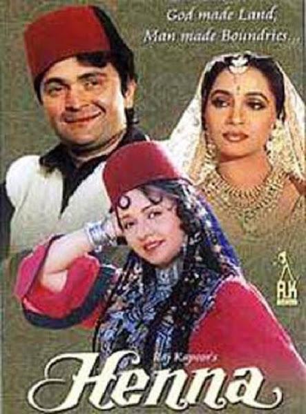 Poster Of Henna 1991 Hindi 720p HDRip Full Movie Download