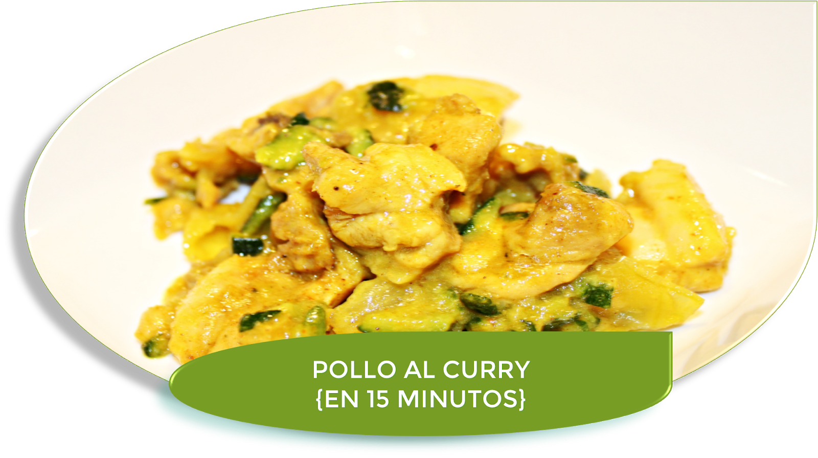 POLLO AL CURRY EN 15 MINUTOS {CON THERMOMIX}