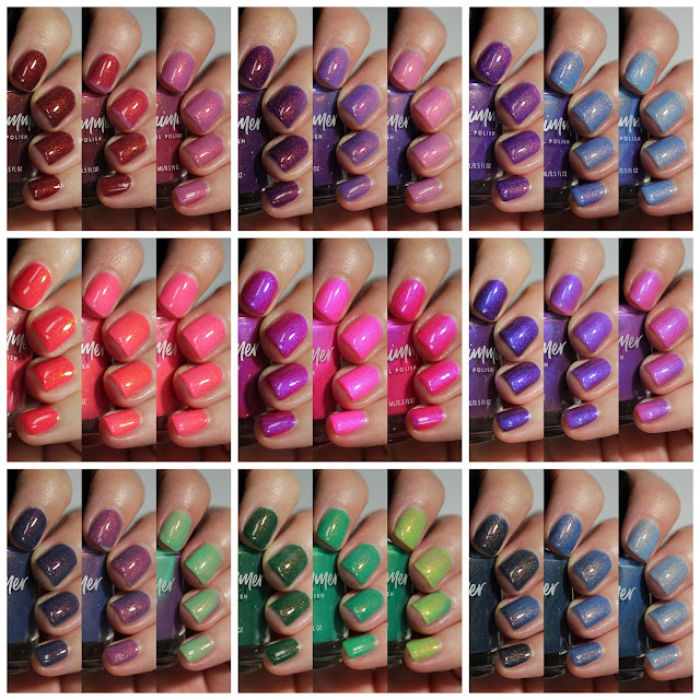 KBShimmer Suns Out Collection swatches Streets Ahead Style