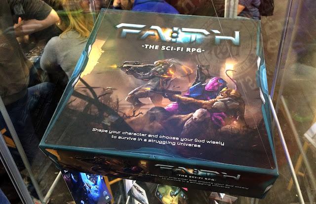FAITH The Sci-Fi RPG game box