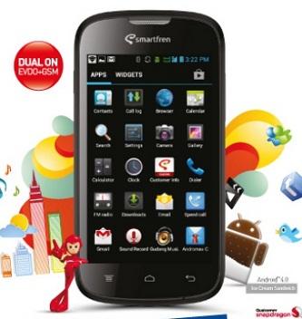 Cara Setting Internet Smartfren Andromax C Kartu GSM
