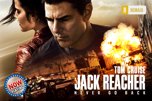Film JACK REACHER: NEVER GO BACK Bioskop