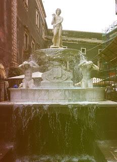 Fonte Amenano - Especial Sicília - Catânia