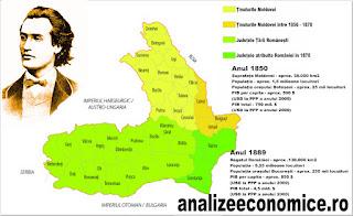 Economia României între 1850 și 1889