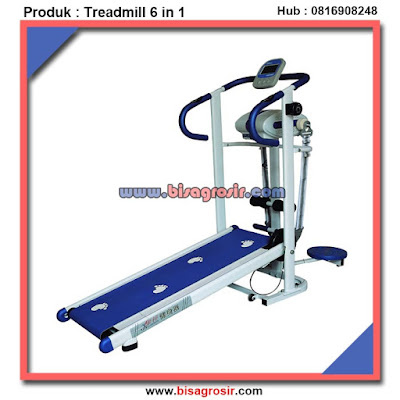 Treadmill Manual 6 Fungsi Alat Fitness