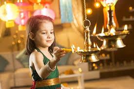 Happy Diwali 2016 images child face 1